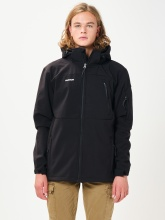 EMERSON SOFT SHELL JKT WITH DET/BIE (202.EM11.277 BD BLACK)
