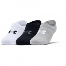 UNDER ARMOUR ULTRA LO SOCKS 3PP (1351784-100)
